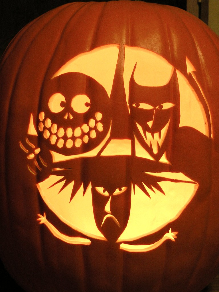 Nightmare Before Christmas Pumpkin Carving Stencils - Auto ...