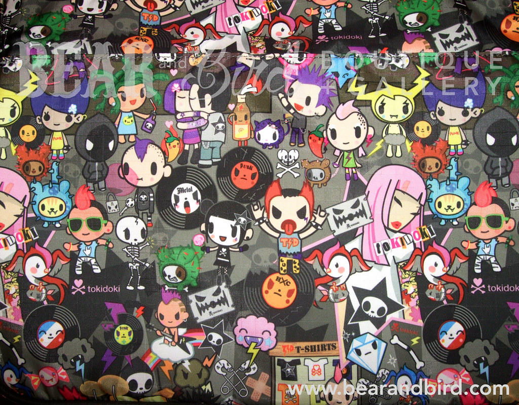 3d Couple Name Wallpaper Tokidoki Concerto Punk Print In Stock As Of October 6