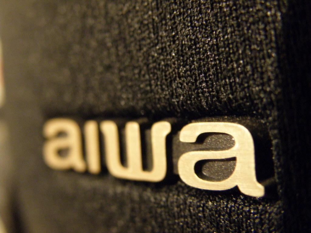 New 3d Wallpaper Aiwa Speaker Logo Closeup 2 Kevin Bondelli Flickr