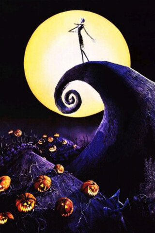 Nightmare Before Christmas Iphone Wallpaper | Christmas Decorating