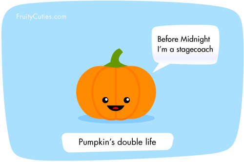 Cute Pumpkin Wallpaper Fruity Cuties Pumpkin S Double Life Pumpkin Helps