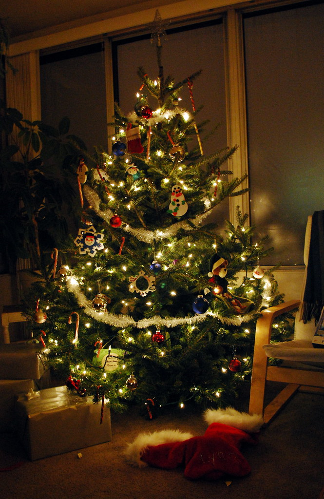 Happy New Year D Video Christmas Tree Laura Larose Flickr