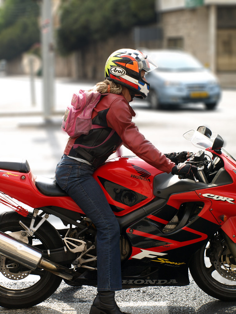 Street Bike Girl Wallpapers Sissy Biker Amitlev Flickr