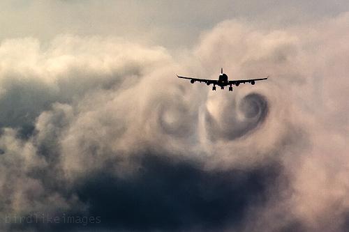 3d Wallpaper Uk Wake Turbulence Swirl Vortex Virgin Atlantic Airbus
