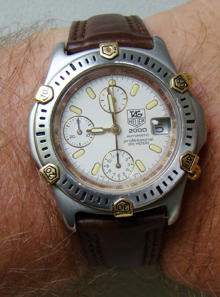 Rolex Date Tag Heuer 2000 Automatic Chronograph | The Movement, Is A