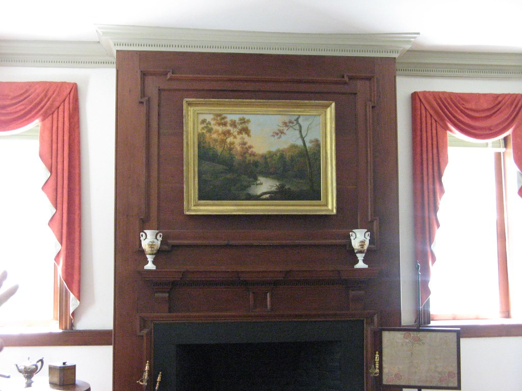 Painting Over Fireplace Painting Over The Fireplace Debbie Stromquist Flickr