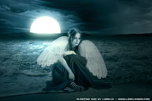 Beautiful Crying Girl Wallpapers Lonely Angel Jessica Flickr