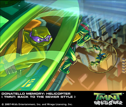 3d Virus Wallpaper Tmnt Back To The Sewer Don Memory Helicopter Art B