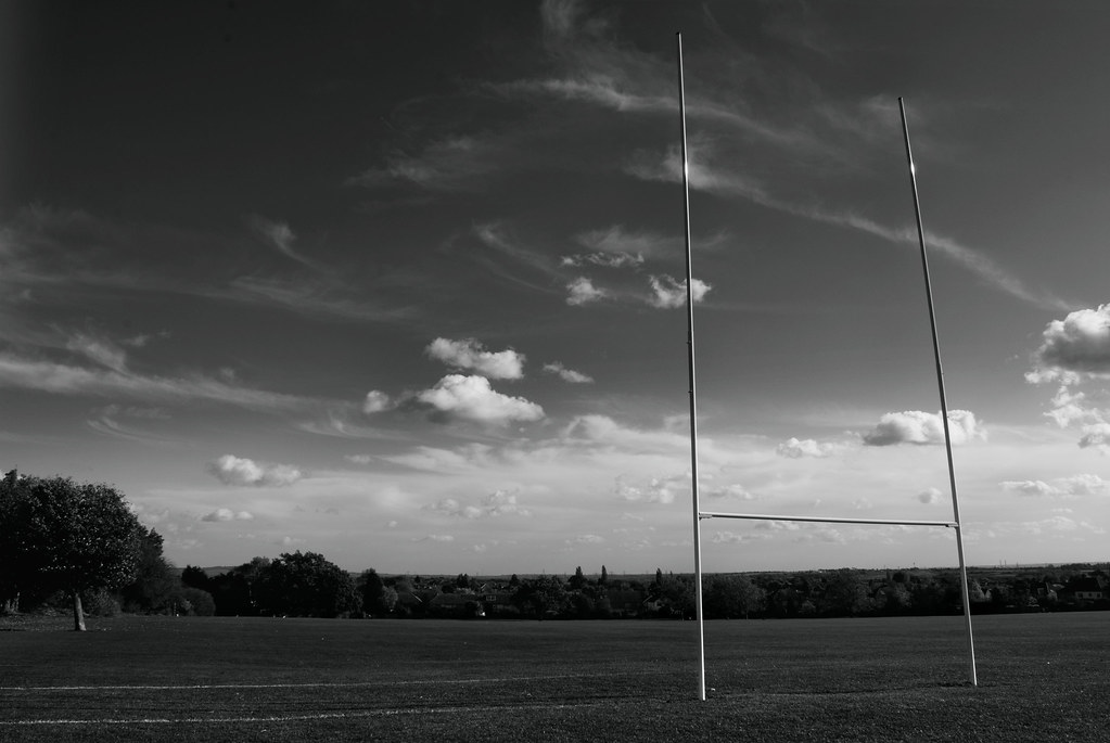 As 3d Wallpaper Rugby Field A Rugby Pitch At The Upminster Recreational