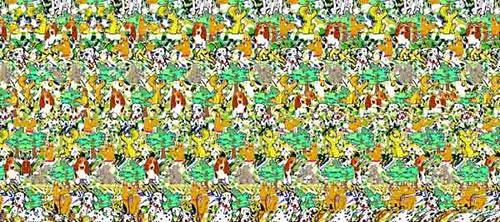 Hidden 3d Illusion Wallpapers Magic Eye 4 Chwalker01 Flickr