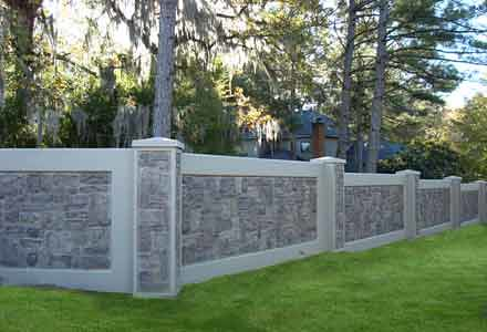 Boundary Wall Concrete Fence Aftec Walls Flickr