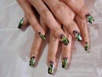 Nail Art Design by NailAsILove.com | Hand Paint Nail Art ...