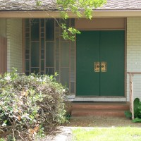 Mid Century Modern Front Door | Flickr - Photo Sharing!