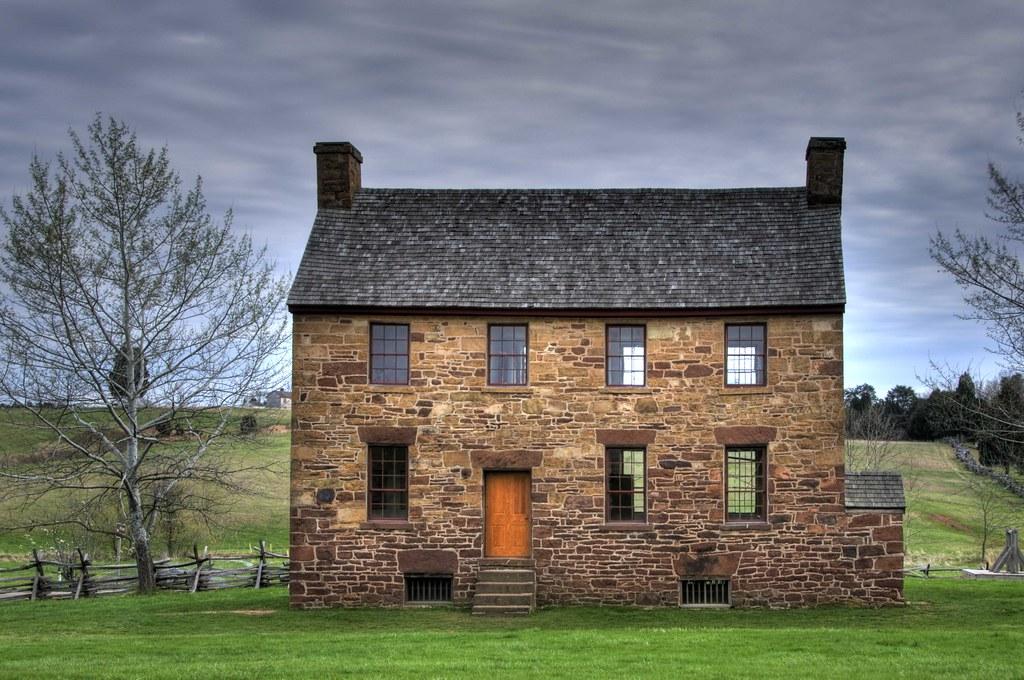 Old Stone House Manassas National Battlefield Park Flickr