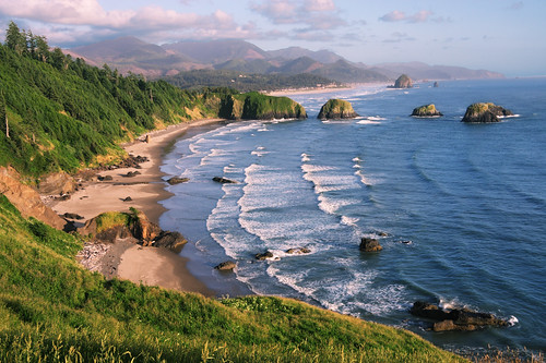 Lighthouse 3d Live Wallpaper Crescent Beach At Ecola State Park Oregon Coast Near