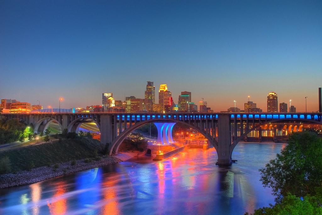 Rasta Wallpaper 3d John Smith Minneapolis Skyline Hdr Minneapolis I