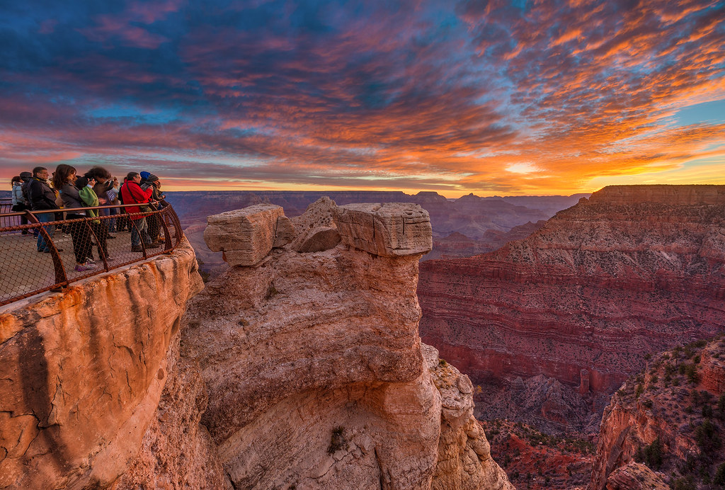 Red Star 3d Wallpaper Grand Canyon National Park Hdr Mather Point Sunrise Flickr