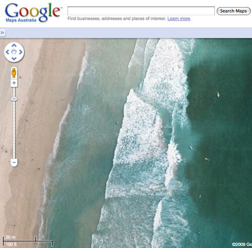map of australia google maps