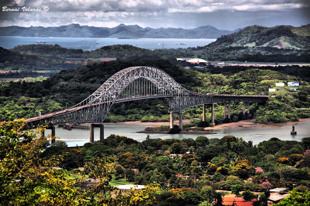 Wallpaper Hd Wallpaper Bridge Of The America Puente De Las Americas Bridge