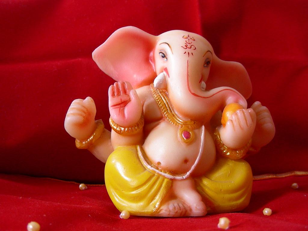 Desktop Wallpaper Hd 3d Full Screen God Ganesh Ganpati Bappa Morya A Ganpati Idol I Have This Idol At