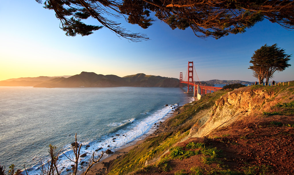 3d Scenery Wallpaper Golden Gate Afternoon Romain Guy Flickr