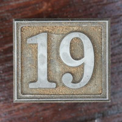 Calendar Number 19 | Leo Reynolds | Flickr