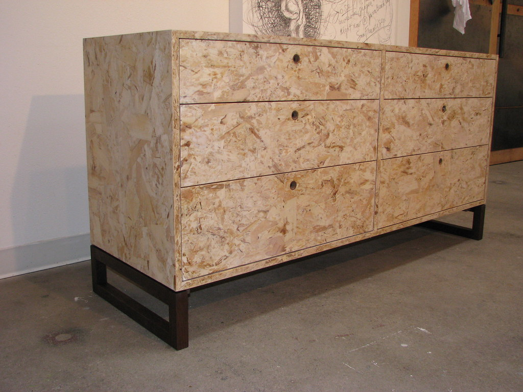 Osb Meuble Osb Dresser Eco Friendly Dresser Made From Osb With A