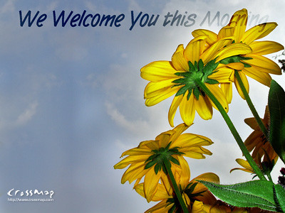 Fall Desktop Wallpaper With Sunflowers Christian Backgrounds Wallpaper We Welcome You This Morn