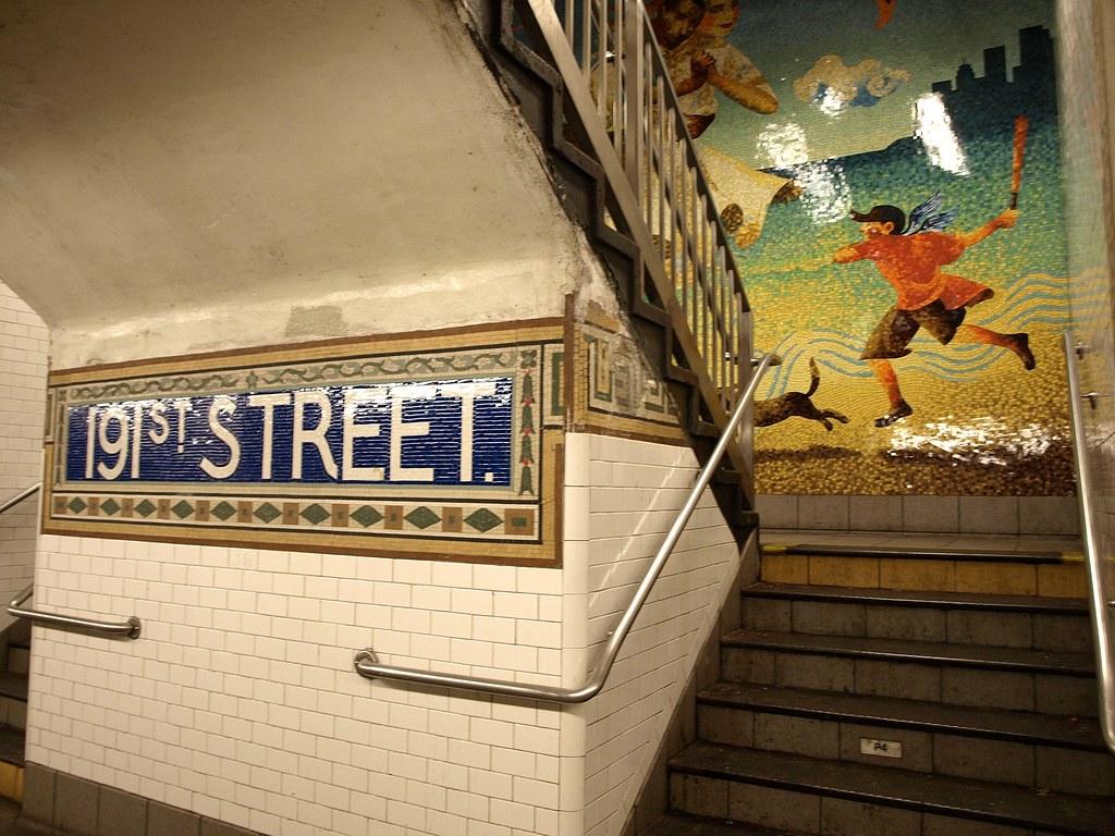 3d Wallpaper New York City 191 Street Subway Station Washington Heights New York Ci