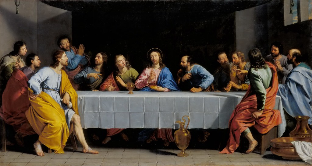 3d Jesus Christ Live Wallpaper Philippe De Champaigne The Last Supper C 1652