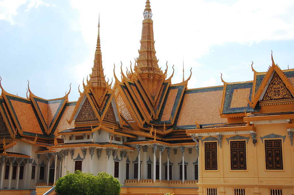 Royal Palace Exotic Khmer Architecture At The Royal Palace | And The