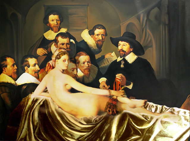 Bild Photoshop What Really Went On At Dr. Tulps Anatomy Lesson... | Flickr