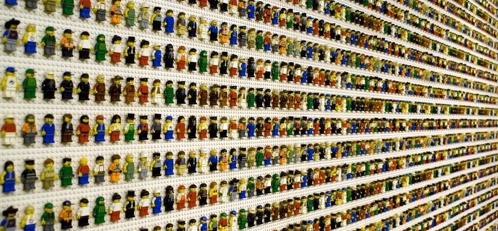 3d Wallpaper For Bedroom Walls Lego Wall Of Lego Figures Close Up Of Lego Bricks Taken