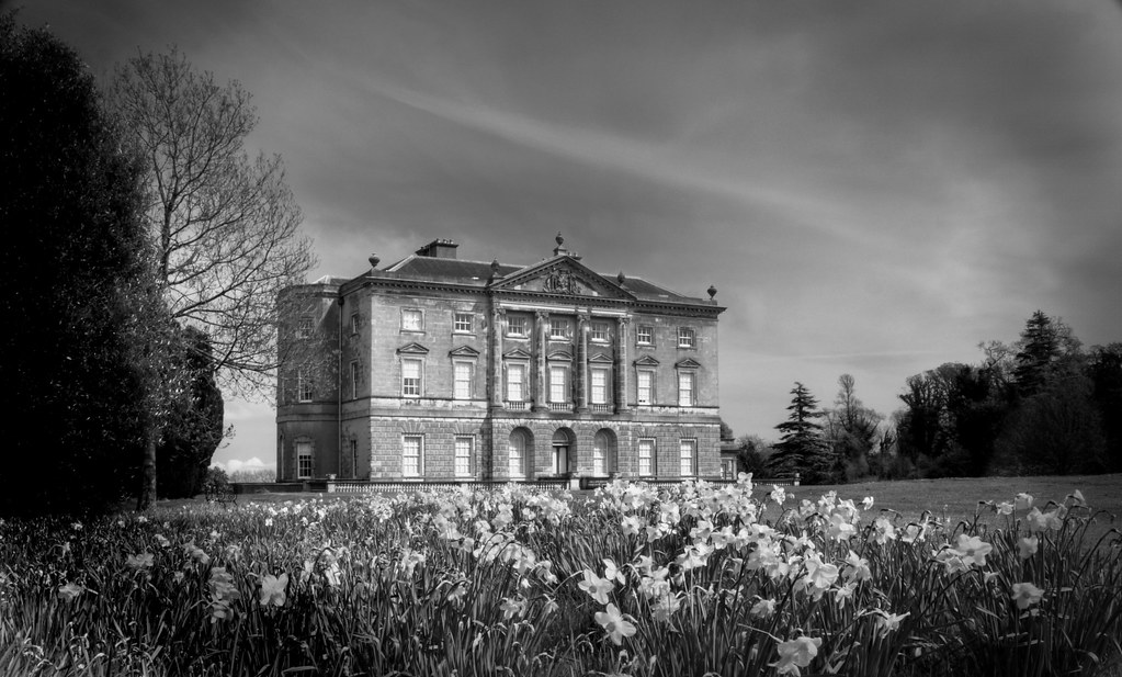 Black Wallpaper Hd The Big House In Black And White National Trust Ni Flickr