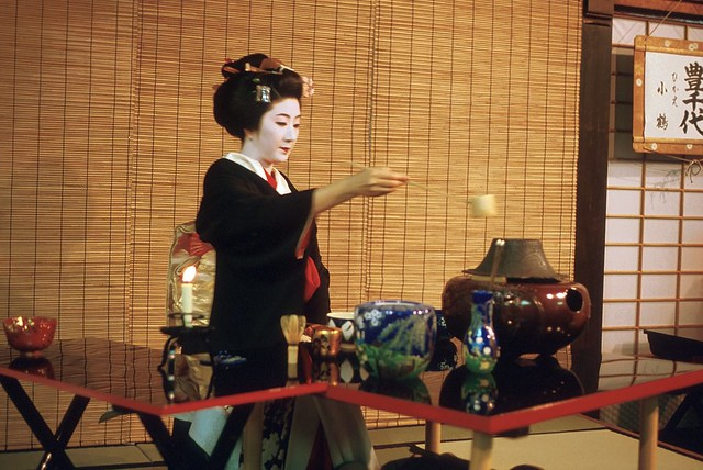 Camera Girl Wallpaper Geisha Tea Ceremony 3 Miyako Odori Tea Ceremony During
