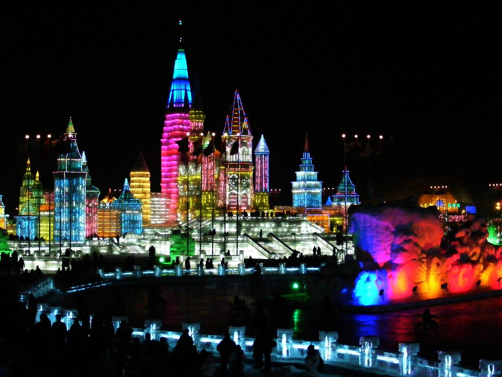 Scientific Wallpaper 3d Snow And Ice World Festival In Harbin China The Annual