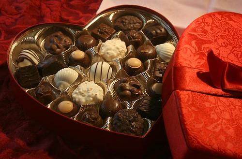 3d Wallpaper Gift Valentine Chocolates Open The Box Amcoffeepmtea Flickr