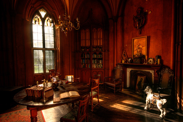 3d Library Wallpaper Yee Old Study Photo Taken In Charsville Castle Kyle
