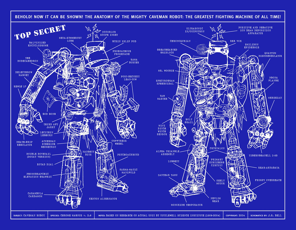 Iron Man 3d Wallpaper Free Blueprint Of Caveman Robot Iasonragnarbellerophon Flickr