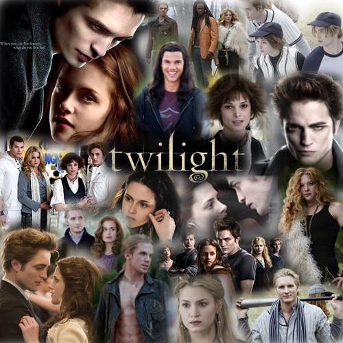Robert Pattinson 3d Wallpaper Twilight Collage Twilight Collage Aquinas College2