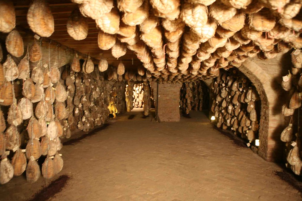 Hang It All Parma Ham Cave | When Aging Parma Hams, Producers Hang