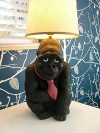 gorilla lamp | blogged here Rearranged Design This gorilla ...