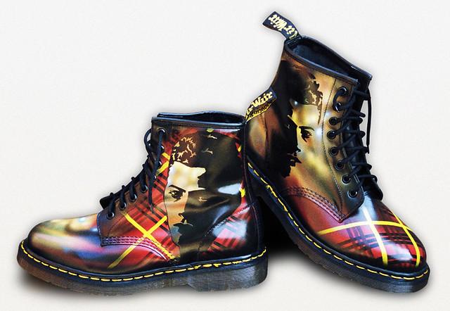 Custom Dr Martens Tartan Airwair These Boots Were