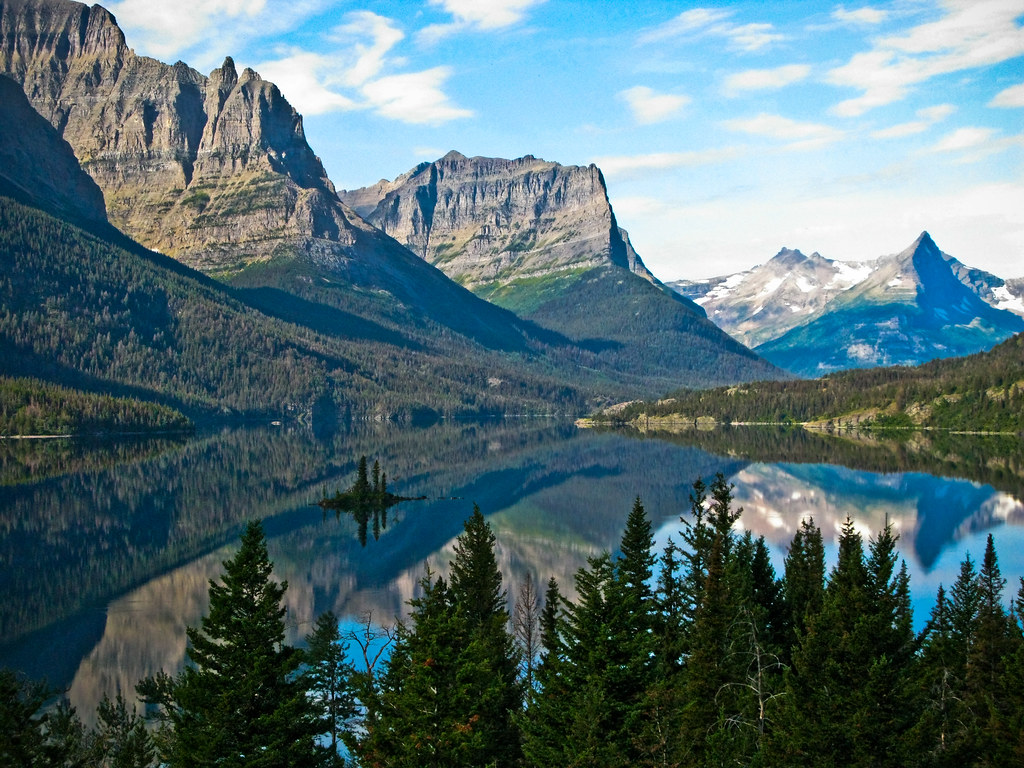 Fall Mountain Lake Wallpaper Glacier National Park Dave Sizer Flickr