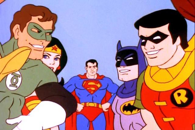 3d Galactic Wallpaper Hanna Barbera S Superfriends 1984 Hanna Barbera