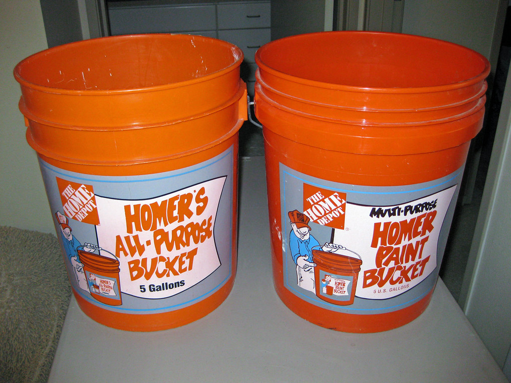 5 Gallon Bucket Home Depot Home Depot 5 Gallon Bucket 1 50 Each 2 For Both Pails