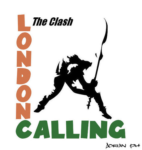 3d Text Live Wallpaper The Clash London Calling The Ice Age Is Coming The Sun