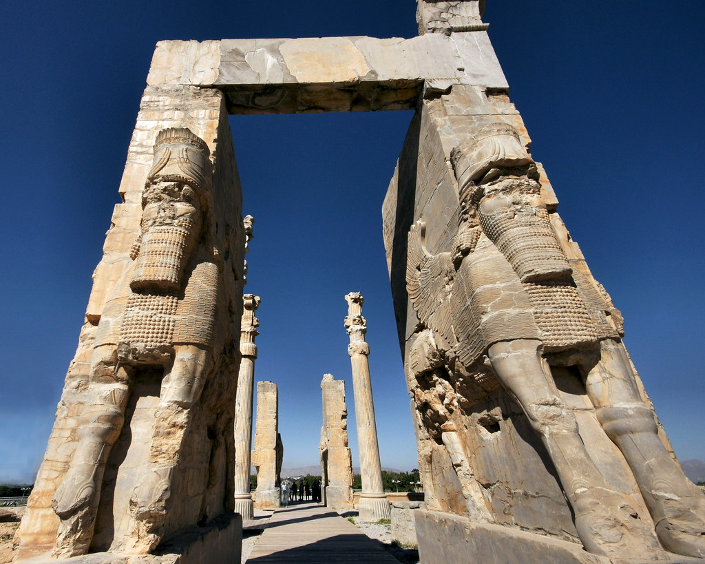 3d Palace Wallpaper Persepolis Gate Of All Nations Persepolis