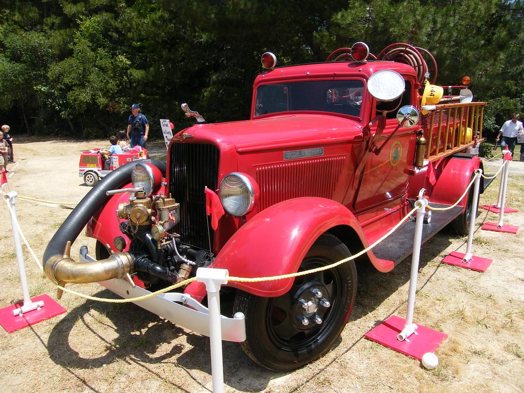 193039s Dodge Fire Truck Seen At The Loma Prieta