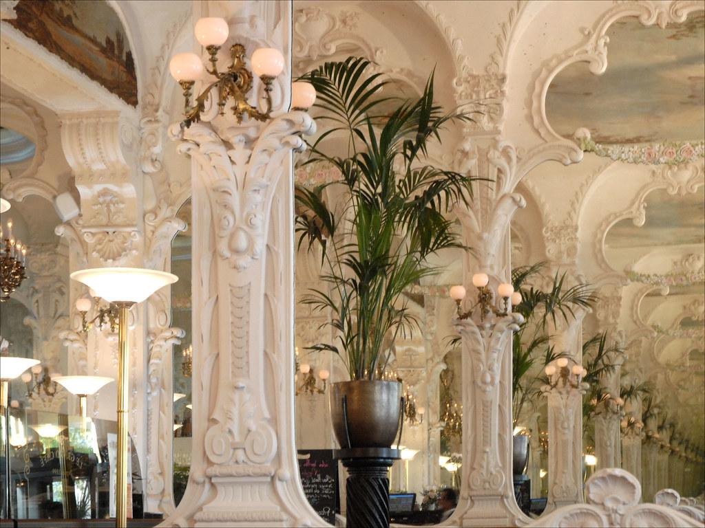 Deco Wallpaper 3d Le Grand Caf 233 Art Nouveau 224 Moulins Le Grand Caf 233 Bar